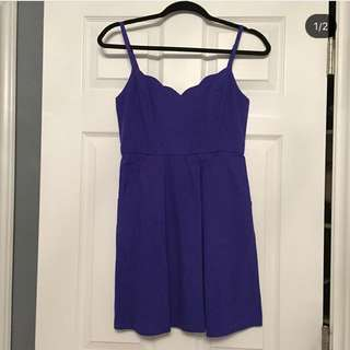UO royal blue dress