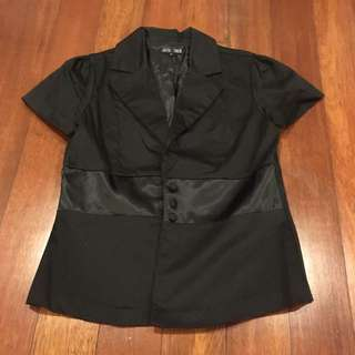 Black Blazer Outerwear