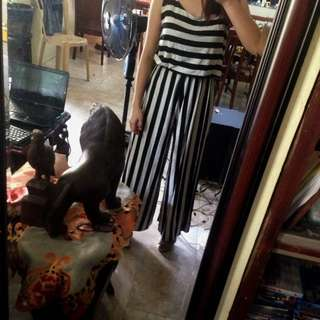 stripes jumpsuit from ora