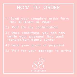 🌟 READ [order form, rules & regulation, how to's]