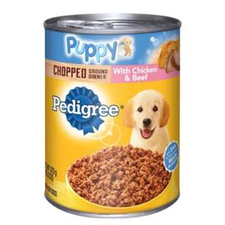Pedigree Puppy Can Food With Chicken And Beef From USA