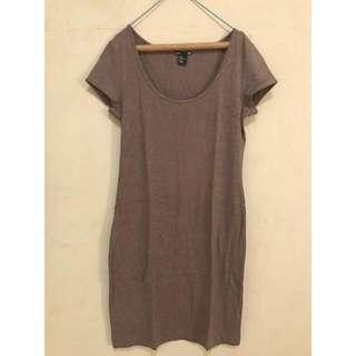 H&M Basics Tshirt Dress