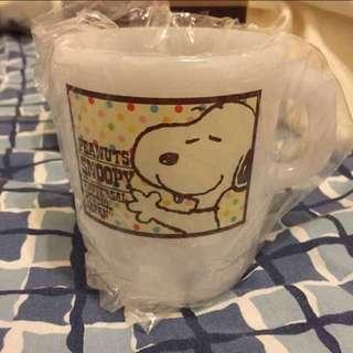 史努比 塑膠杯子