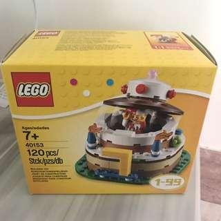 全新Lego 40153生日蛋糕