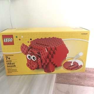 全新Lego 40155豬仔錢箱