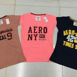 #new arrivals #Aero -embroidered -  Ladies  Branded Overruns Made in Bangladesh  Size:S M L XL
