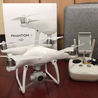 DJI Phantom 4 with Manfrotto D1 Drone Backpack