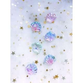 Mini Seashells Resin Pieces