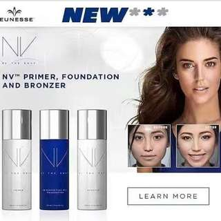 NV Primer, Foundation & Bronzer
