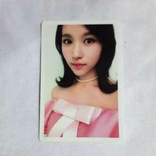 Twice Mina Photocard