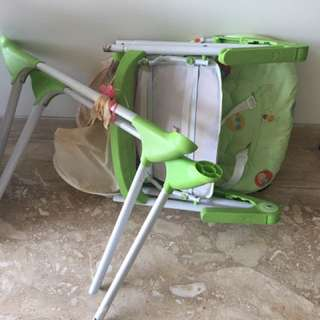 Baby High Chair Cocolate