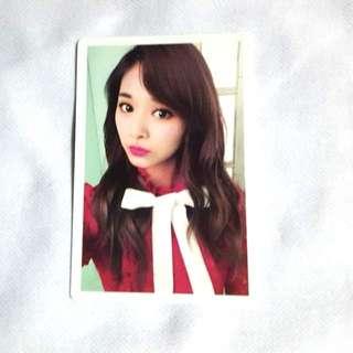 Twice Tzuyu Photocard