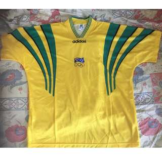 Rare Australia Home Jersey for 1996 Olympics Games 罕有澳洲96奧運主場球衣/波衫
