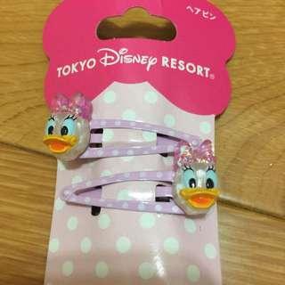 日本東京迪士尼黛西髮夾