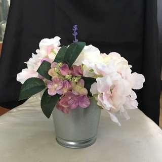 Mini Artificial Flower Table Arrangement 01