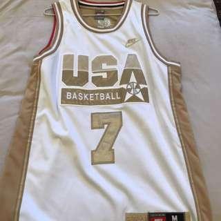 Nike USA LARRY BIRD Jersey