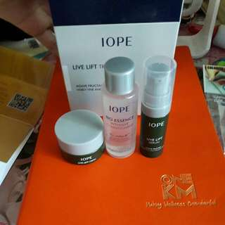 IOPE LIVE LIFT Trail Kit