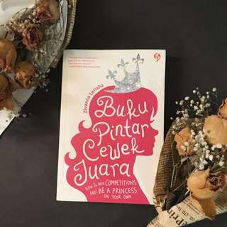 Motivational Book For Girls BUKU PINTAR CEWEK JUARA by Zivannq Letisha Putri Indonesia