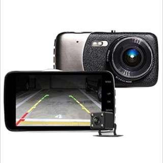 Dual Lens Car Camera Dvr Front And Back