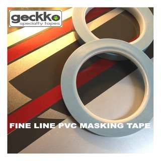 FINE LINE PVC MASKING TAPE by Geckko Specialty Tapes