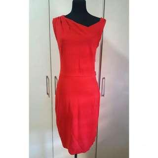SUPER SALE Mango Suit Red Dress