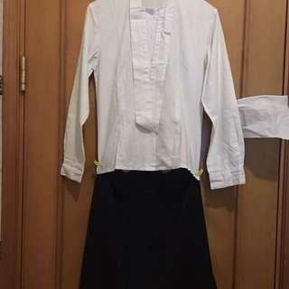 瑪利諾修院學校 (中學部) 冬季校服 Maryknoll Convent School (Secondary Section) Winter Uniform