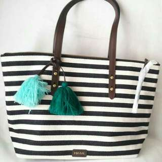 Authentic Fossil Jenna Tote BNWT