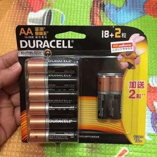 金霸王 AA 電池 電芯 20粒