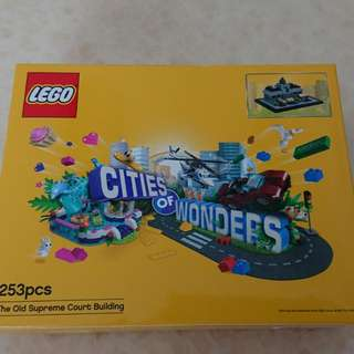 Lego 立法會 Cities of Wonders Legislative Council Hong Kong