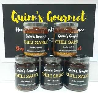 Quinn's Gourmet Chili Garlic & Chili Sauce