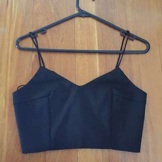 Black Bustier- Still With Tags