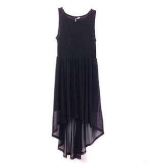 H&m High Low Sheer Dress