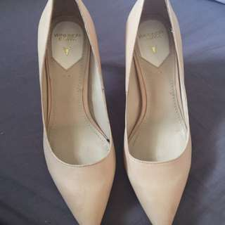 Windsor Smith Nude Heel