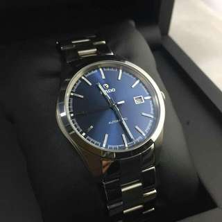 Pre Loved RADO Hyperchrome Automatic Blue Dial Steel And Ceramic Men's Watch (R32115203)