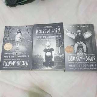 *BUNDLED* Miss Peregrine's Peculiar Children Series - Ransom Riggs (Paper Back)