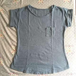 Blue Shirt W/ Pocket