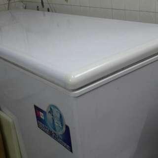 掀櫃(海爾)冷凍冰箱