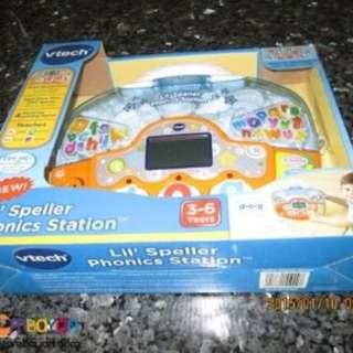VTECH LIL SPELLER PHONICS STATION