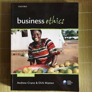 Business Ethics (3rd Ed)