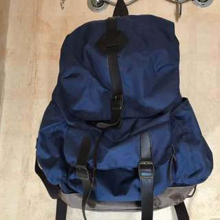 Unisex Blue Navy Ransel