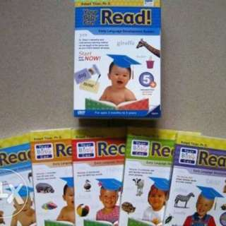 Your Baby Can Read 5pcs DVDs only not set package