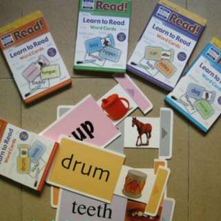 5 sets Flash cards only of Your Baby Can Read