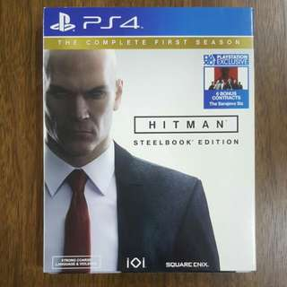 PS4 Hitman Steelbook Edition (The Complete First Season)