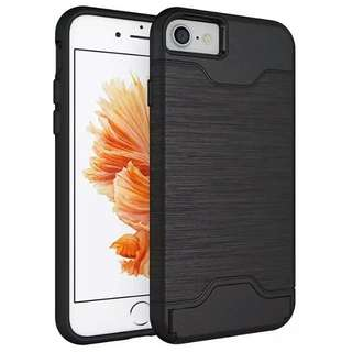 iPhone 7/7 Plus 2 In 1 Case (Card Slot And Mobile Stand)
