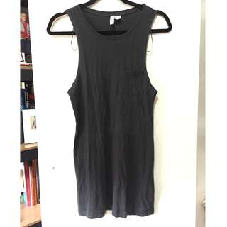 Tank sleeves dress