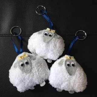 Onigiri Sheep (keychain)