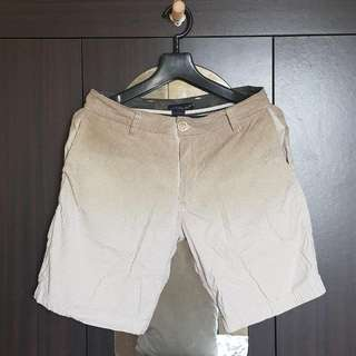Faded Brown Shorts - Waist 29-30