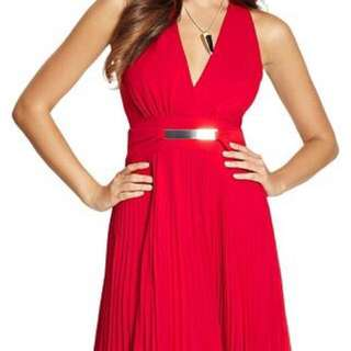 Marciano Red Party Dress