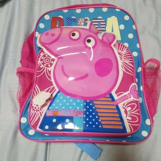 Peppa Pig(SOLD), Minion(Given away), Paw Patrol Toddlers School Bags