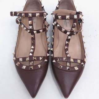 VALENTINO Caged Flatshoes